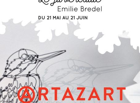 """Exposition """"Le fil versatile"""" du 21mai au 21 juin 2019 _ ARTAZART - 83 QUAI DE VALMY 75010 Paris"""