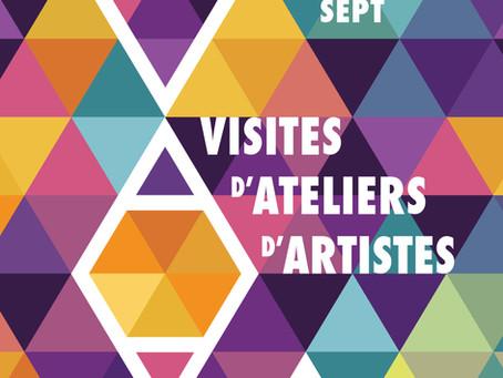Visites d'ateliers d'artistes les 26 et 27 septembre 2020 à Rouen