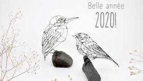 Meilleurs voeux pour 2020! ❤️