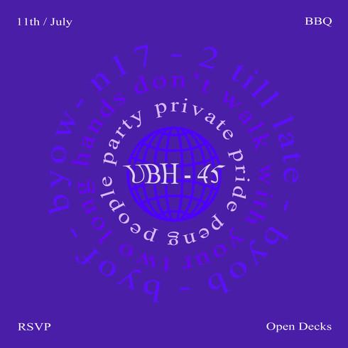 Purple Party Flyer