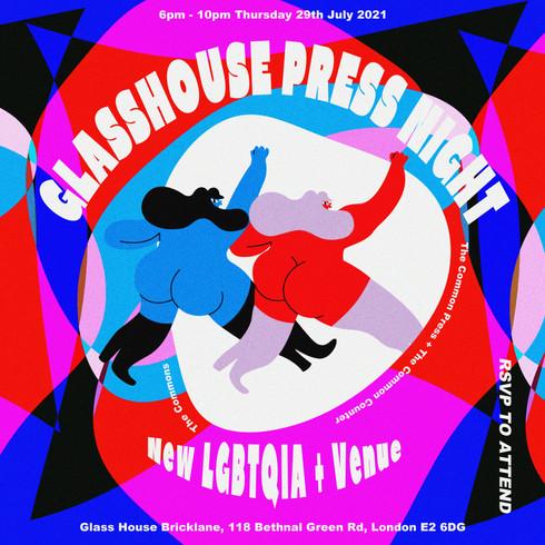 Glass HousePress Release Invite