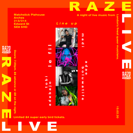 Raze Live Instagram