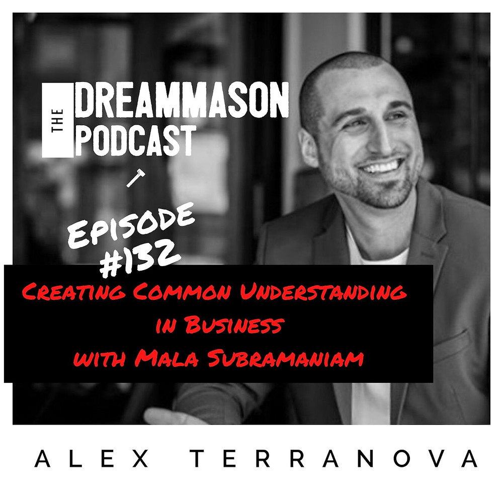 Mala Subramaniam Beyond Wins and The DreamMason Podcast with Alex Terranova