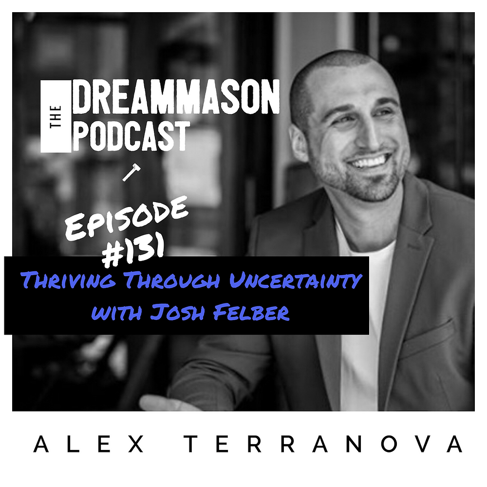 Entrepreneur Josh Felber and Business Coach Alex Terranova on The DreamMason Podcast