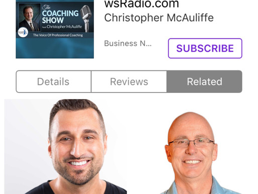 Guest hosted The Coaching Show Podcast with guest David Hoyt