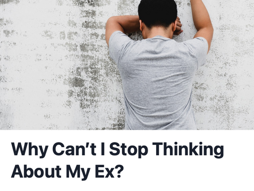 """Why Can't I Stop Thinking About My Ex"" feature in UpJourney"