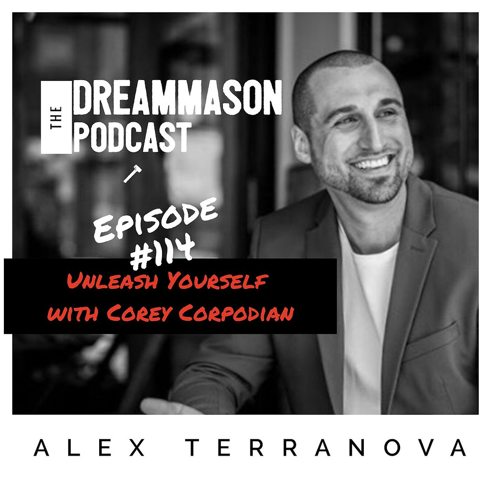 Corey Corpodian and Alex Terranova on The DreamMason Podcast