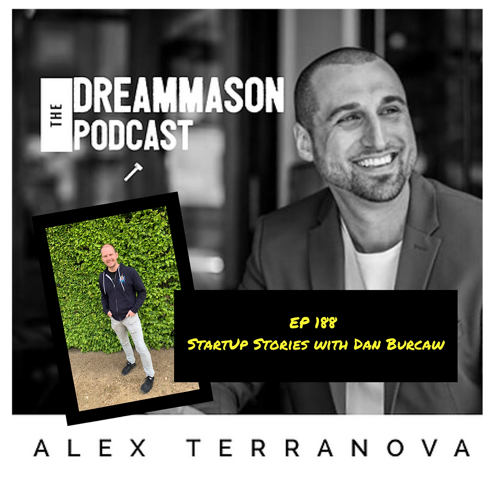 Transforming The Funny Fat Guy with David Roden and Alex Terranova on The DreamMason Podcast