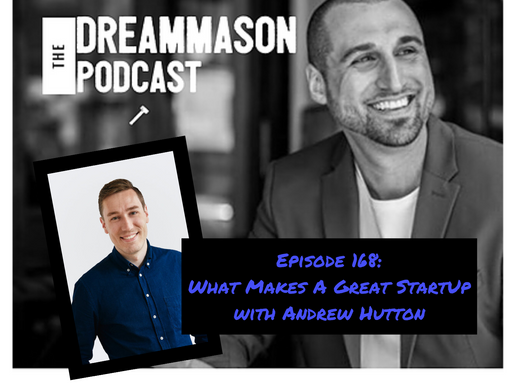 What Makes A Great StartUp with Andrew Hutton
