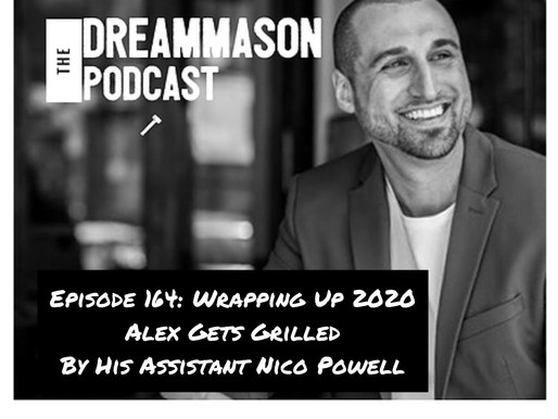 Wrapping Up 2020 - Alex Gets Grilled By His Assistant Nico Powell