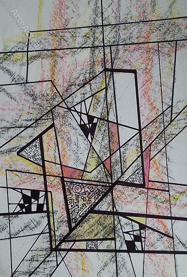 Universos geométricos en expansión rosa