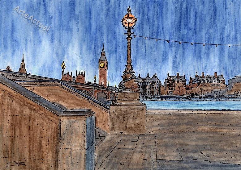 Night on Thames