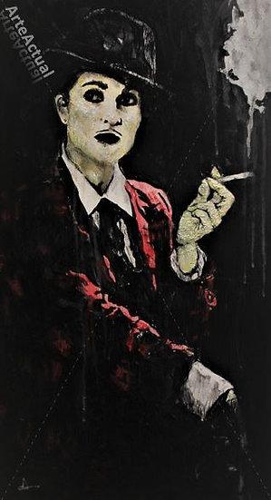 El humo de un cigarro