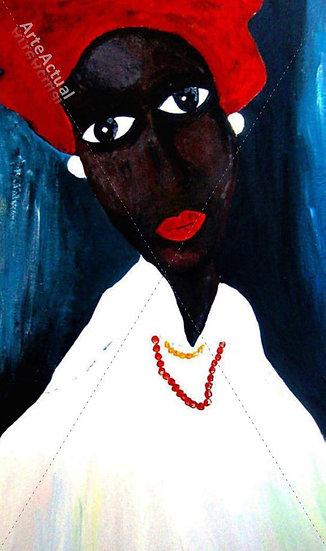 Mujer de color
