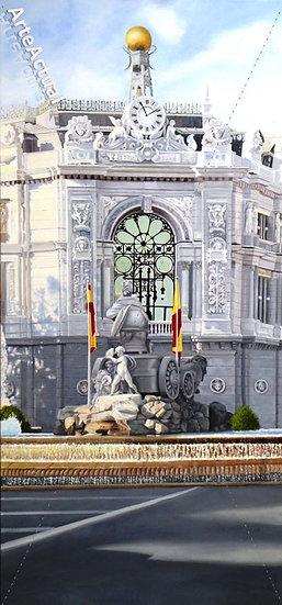 Cibeles con Banco de España