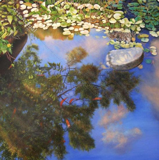 En el estanque