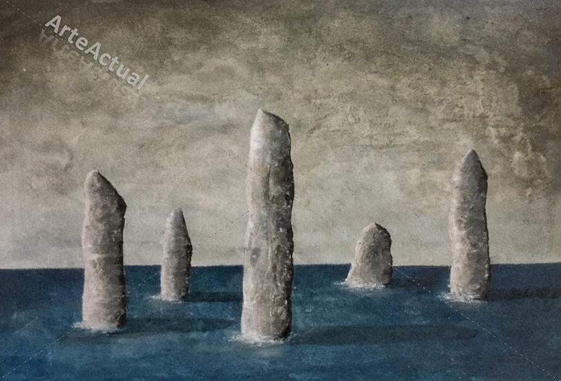 5 Menhirs