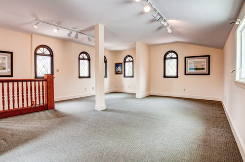 The Gallery on the second floor!