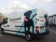 DogSmart Mobile Dog Groomer Van
