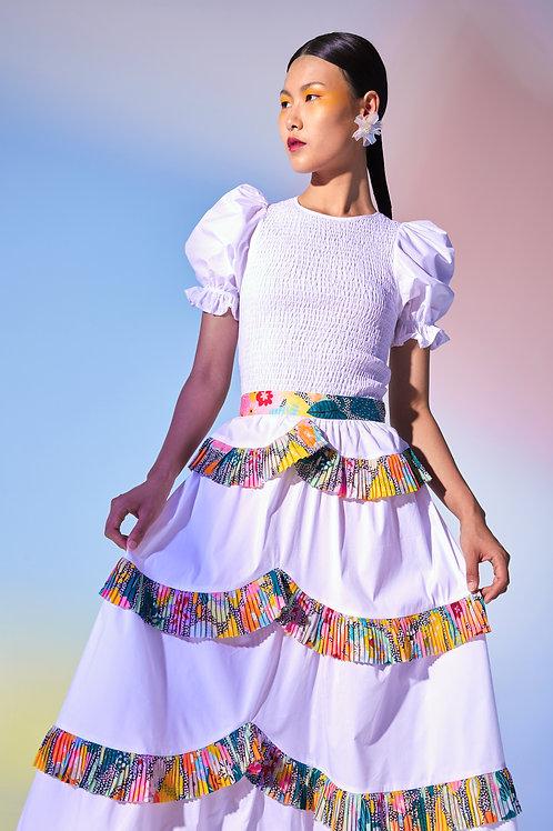 Sulawesi Skirt White