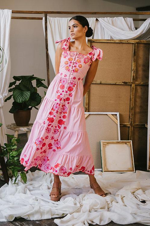 Canela Dress Pink