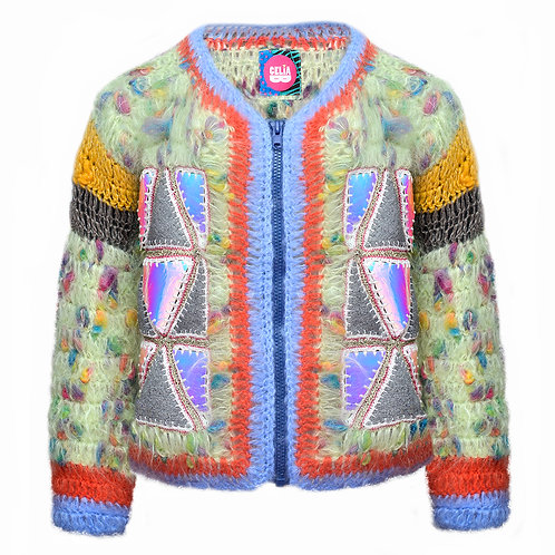 Mohair Crochet Jacket