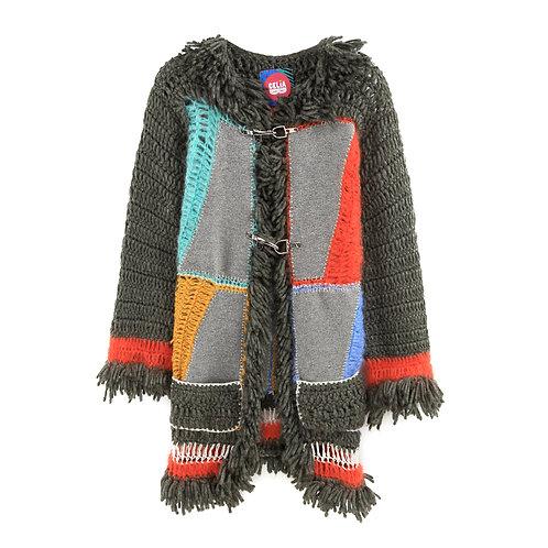 Crochet Panel Jacket
