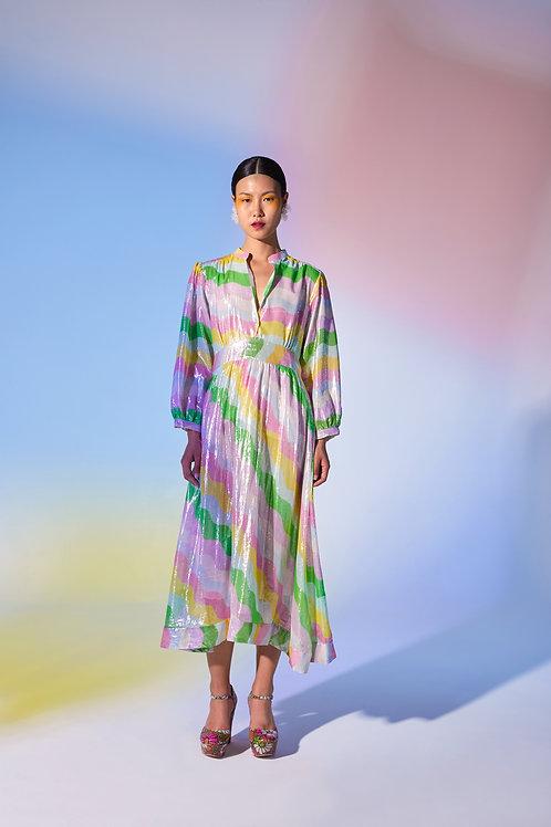 Jakarta Dress Rainbow