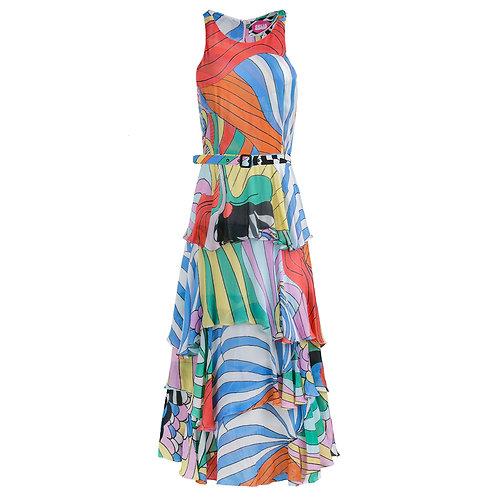 Psychedelic Rainbow Dress