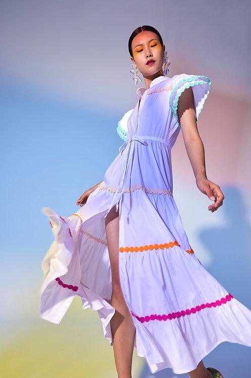 Baba Dress White