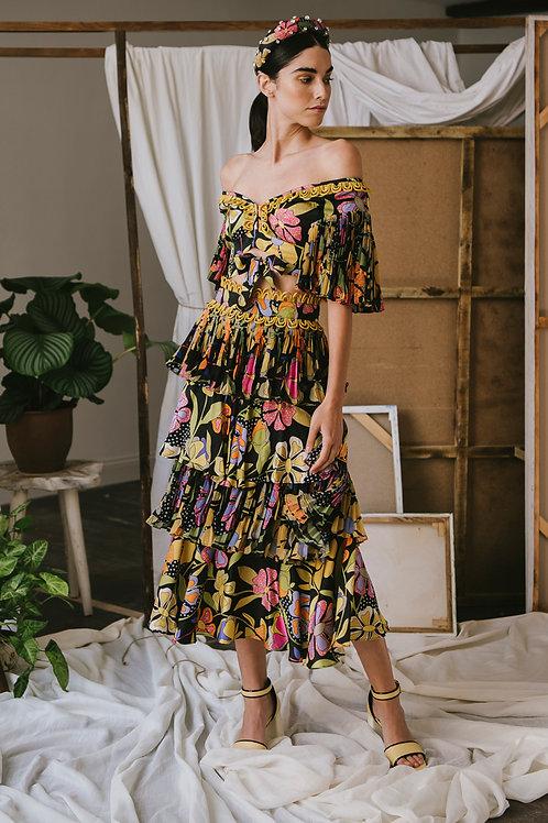Pasiflora Skirt Black