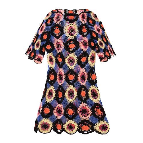 Crochet Flower Dress