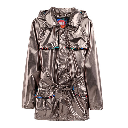 Light Weight Silver Trench