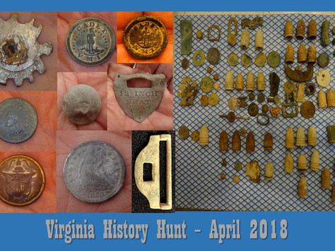 April Virginia History Hunt Highlights