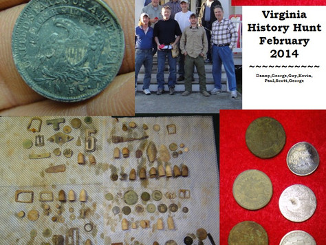 First Metal Detecting Trip of the Season Highlights