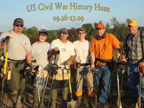 The First U.S. Civil War History Hunt Was a Blast!
