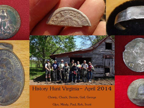 Spring 2014 Virginia History Hunts a Hit!
