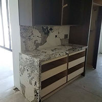 Mitered Patagonia #quartzite with waterf