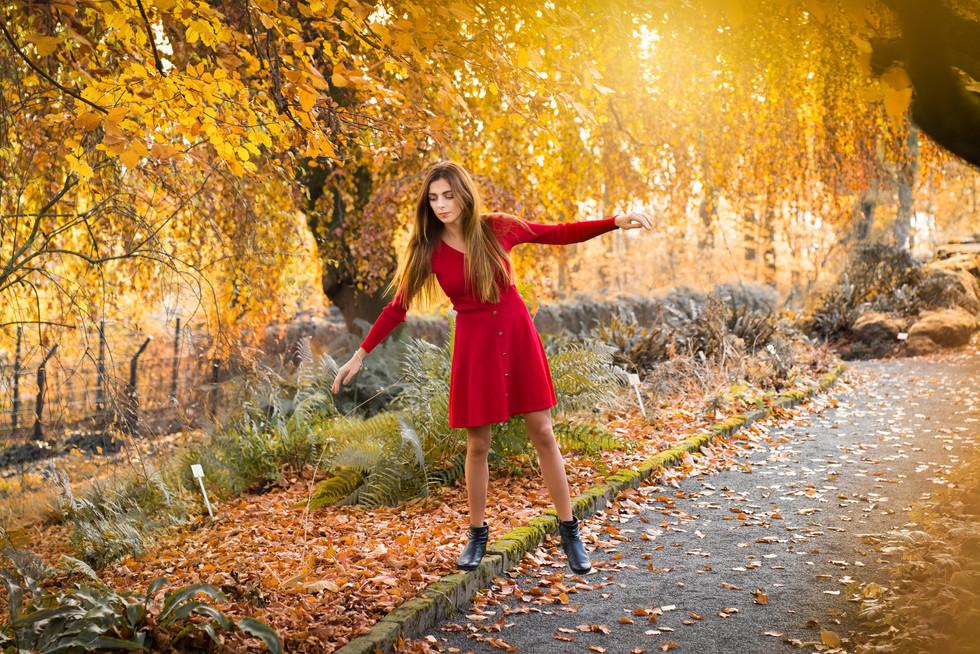 Herbstfotoshooting in Wuppertal