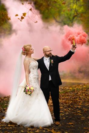 Hochzeitsfotografie in Bochum | Rauchfackel