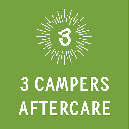 3 Campers Aftercare
