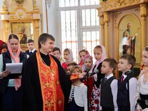 Пасхальное поздравление учеников воскресной школы «Лоза»