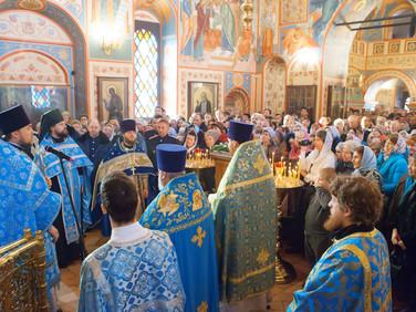 Престольный праздник храма Казанской иконы Божией Матери г. Котельники