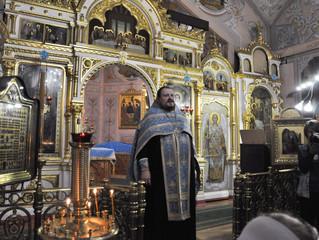 Молебен перед началом учебного года в Троицком храме в Наташино
