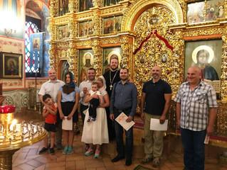Обеты трезвости в Казанском храме