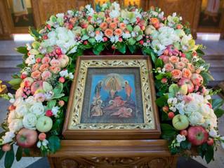 Престольный праздник Преображенского храма г. Люберцы