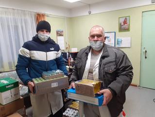 Посещение добровольцами Елатомского детского дома