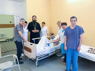Посещение городской больницы в п. Октябрьский