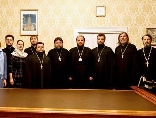 Собрание отдела по издательской деятельности и связям со СМИ Подольской епархии