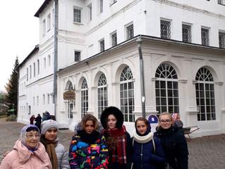 Паломническая поездка школьников Люберецкого благочиния в Новоспасский монастырь